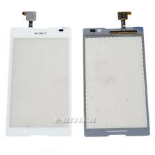 "Sony Xperia C S39h Blanco Digitalizador Pantalla Táctil Cristal ""UK"" S39 C2304 C2305 + Herramientas"