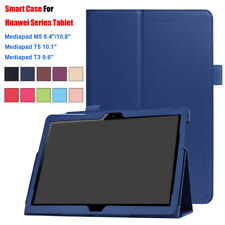 NEW Protective Smart Case Tablet Cover For Huawei Media Pad M5 8.4/10.8 T3 T5 10