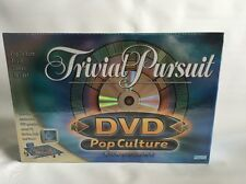 NEW Trivial Pursuit POP CULTURE Edition DVD Board Game Hasbro Parker Brothers