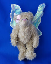"TY Attic Treasures Rafraella 8"" Angel jointed Bear  Christmas Ornament"