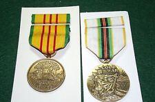 Vietnam Service and Cold War Service Medals
