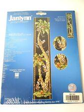 Janlynn Playful Monkeys Counted Cross Stitch Kit By Nancy Rossi
