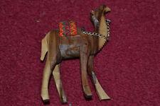 Kamel, Holz, handgeschnitzt, antik