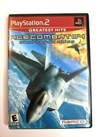 Ace Combat 04: Shattered Skies (Sony PlayStation 2, 2001) Complete CIB PS2 F/S