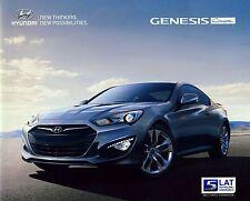 Hyundai Genesis Coupe 2013 brochure catalogue polonais rare