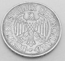 Germany - Federal Republic 1956F 1 Mark KM# 110 Rare Coin in Excellent Condi