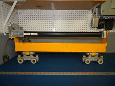 Air Tool Trolley With (2) Unified Ind Trolleys and Tol-O-Matic Cable Stroke