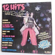 "33T Gilles PELLEGRINI Vinyle LP 12"" 12 HITS TELE RADIO N°86 Pin Up TRETEAUX 6576"
