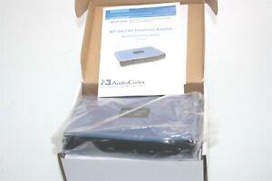 AudioCodes MP201B/1FXS Telephone Adapter GGWV00260 12VDC MP201B/1S/SIP