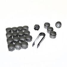 PLATA FUNDA 17mm plástico pernos de rueda Tuercas Para Peugeot 206 306 406