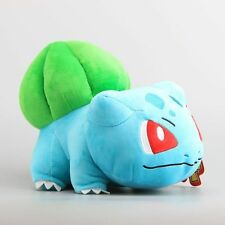 12'' BIG Pokemon Bulbasaur Plush Toy Soft Stuffed Animal Doll Cuddly Gift