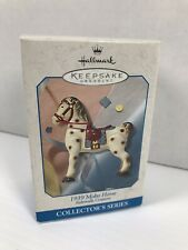 Hallmark Keepsake Metal Christmas Ornament 1939 Mobo Horse Sidewalk Cruisers