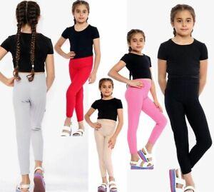 Waffle Tik Tok Textured Honeycomb Design Kids Girls  Fashion Leggings Bottom