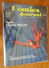 Comics Journal #77 Frank Miller Daredevil 8.0 VF (1992)