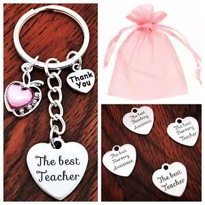 THANK YOU GIFT FOR TEACHER Teaching Assistant ,Nursery Teacher Keyring