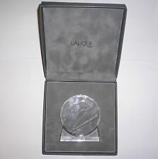1992 WINTER OLYMPIC GAMES Albertville France LALIQUE CRYSTAL PAPERWEIGHT in Box1