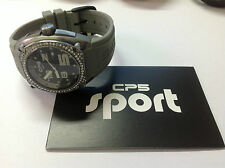 Nuevo - Reloj Watch CP5 Carles Puyol - Aluminium - Grey Swarovski - Size S - New