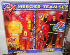 #4362 Placo Generation Extreme Heroes Fire & Rescue & Extreme Rescue Team Set
