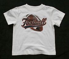 New Gymboree Football Champ Top Size 5 year NWT Short Sleeve White Shirt