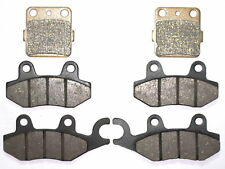 Front Rear Brakes Brake Pads Fit Yamaha YFZ450 YFZ 450