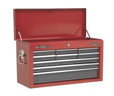 Sealey Tool Storage Box Top Chest 9 Drawer Ball Bearing Slides Toolbox AP22509BB