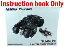 INSTRUCTION Custom Lego Batman Tumbler & Batpod V1.0 7888 76023 70917 7784 76087