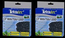 2 x TetraTec Carbon Tetra Tec EX600 EX700 EX1200 EX2400 Tropical Fish Media