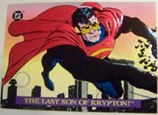 DC COMIC SKYBOX - SUPERMAN BLOODLINES - LAST SON INSERT CHASE CARD S3 - RARE