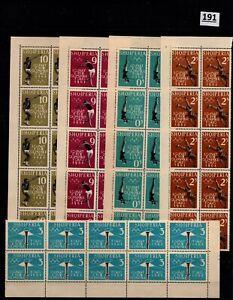 /// 10X ALBANIA 1964 - MNH - OLYMPICS - TOKYO - JAPAN
