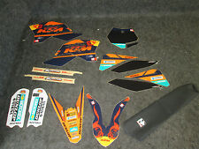 KTM SX50 2009-2013 N-STYLE Factory Team graphics + seat cover kit GR1034