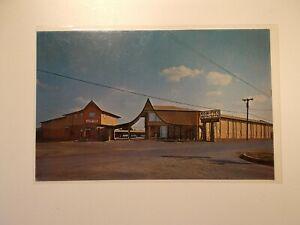 KON-TIKI Motel and Apps Universal City Texas USA Post Card
