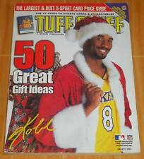 KOBE BRYANT TUFF STUFF JAN. '03 SANTA CLAUS COSTUME COLLECTIBLE MAGAZINE