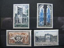 FRANCE neufs  n° 985 à 988  (1954)