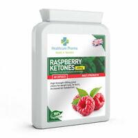 Raspberry Ketone 600mg 60 Capsules High Strength Appetite Weight Loss UK Made