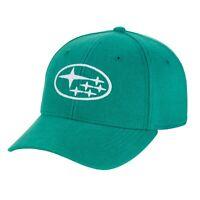 SUBARU Genuine Double Stripe Patch Cap Hat Impreza STI WRX Forester Outback New