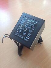 Alarm Panel Plug-In AC Transformer for DSC Panels/Modules UK 3 Pin Plug