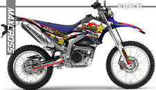 YAMAHA WR250R WR250X ALL YEARS MAXCROSS GRAPHICS KIT DECALS STICKERS FULL KIT-8