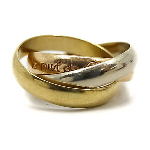 Cartier Ring  Trinity K18 Gold Rose Gold  1809703