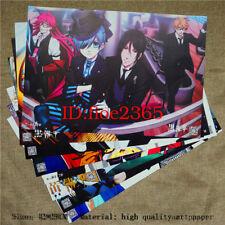8 PC Anime Black Butler Kuroshitsuji Series Home Decor Album Wall Poster 42*29CM