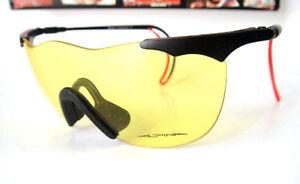 ALPINA New Germany Shield Sunglass Mens Womens Bike Surf Cycling Goggles Yellow
