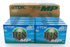 【NEW x10-Packs】TDK MP120 Hi8 Camcorder Video Cassette Tape MADE IN JAPAN #070-1