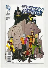 BATMAN AND THE OUTSIDERS #1 NM+ 9.6 RYAN SOOK VARIANT (1:10) 1ST ISSUE! 2007
