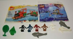 Lego Lot - Sharks, Trees, Friends, Trains
