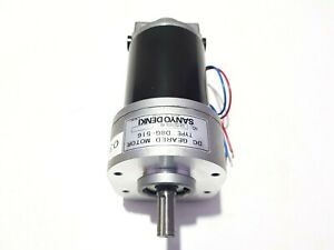 FURUNO/SANYO DENKI D8G-516 DC GEARED MOTOR 000-631-715 RPM 031531036 RB D8G516