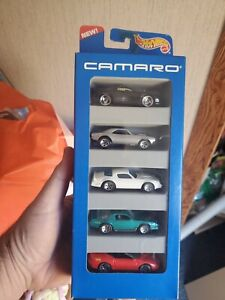 NEW! Hot Wheels CAMARO 5 Car Gift Pack by Mattell Vintage 1995