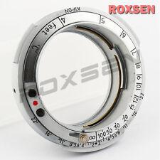 Kipon Contax Rangefinder RF Nikon S Lens to Leica M39 L39 39 Screw Mount Adapter