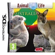 NDS DSi LITE XL gioco Animal Life Australia DSi-Sostegno fotocamera nuovo