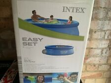 Intex 10ft X 30 inch Above Ground Swimming Pool (DOES NOT INCLUDE PUMP) - NEW
