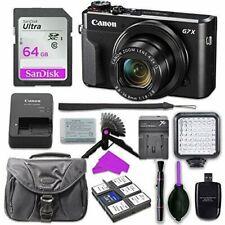 Canon PowerShot G7 X Mark II Digital Camera with 64GB SD Memory Card