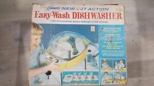 1967 Kenner Retro Easy Wash Dishwasher Mid Century Vintage